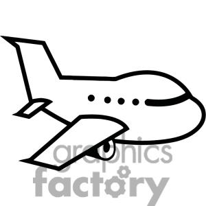 Airplane Clipart Black And White | Clipart Panda - Free Clipart Images
