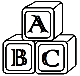 Abc Clip Art Black And White | Clipart Panda - Free ...