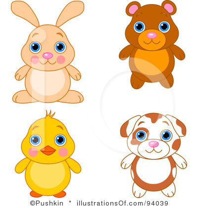RF) Cute Animals Clipart | Clipart Panda - Free Clipart Images