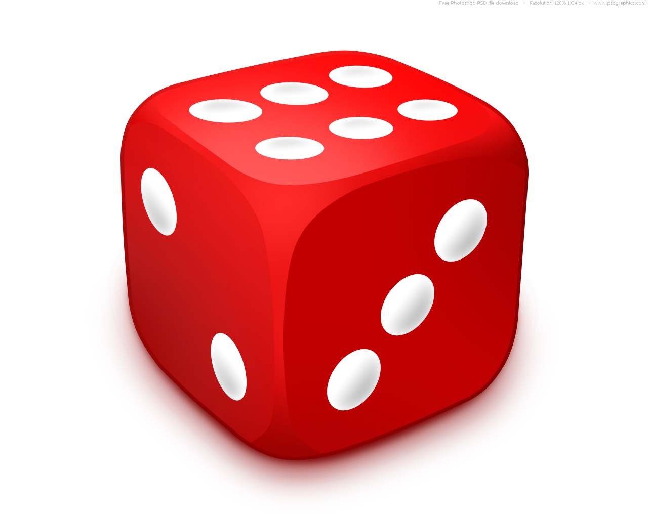 1 Dice Clipart Clipart Panda Free Clipart Images