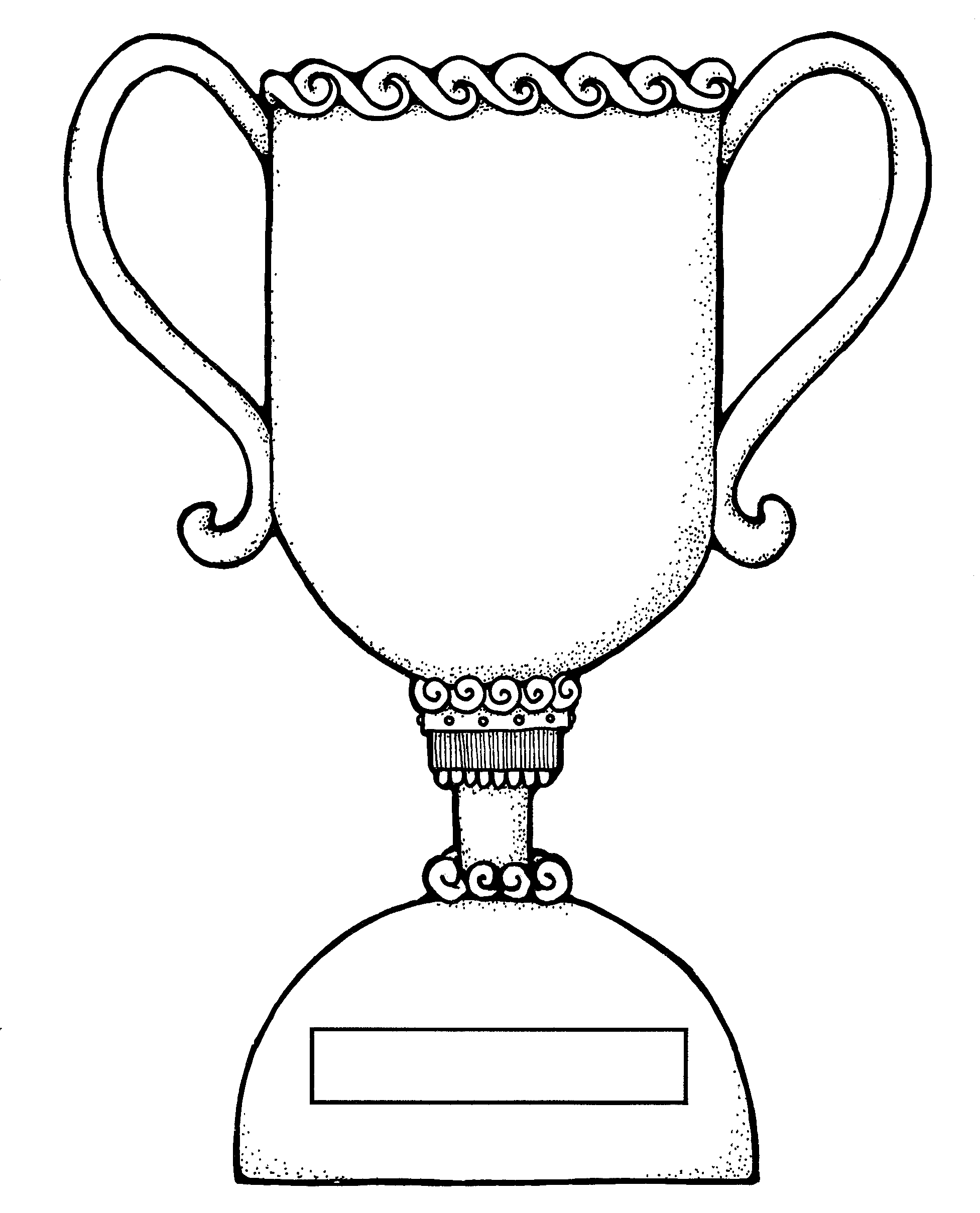 trophy coloring sheet coloring pages. Black Bedroom Furniture Sets. Home Design Ideas