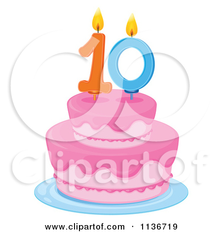 Th Birthday Cake Clipart