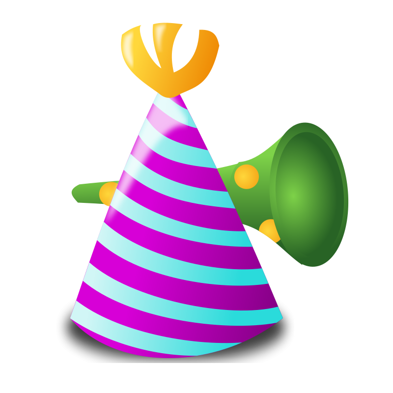 10th Birthday Party Clip Art