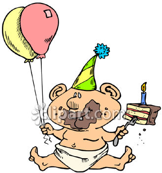 1st Birthday Cake Clipart | Clipart Panda - Free Clipart Images