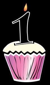 1st birthday cupcake clip art clipart panda free clipart images rh clipartpanda com