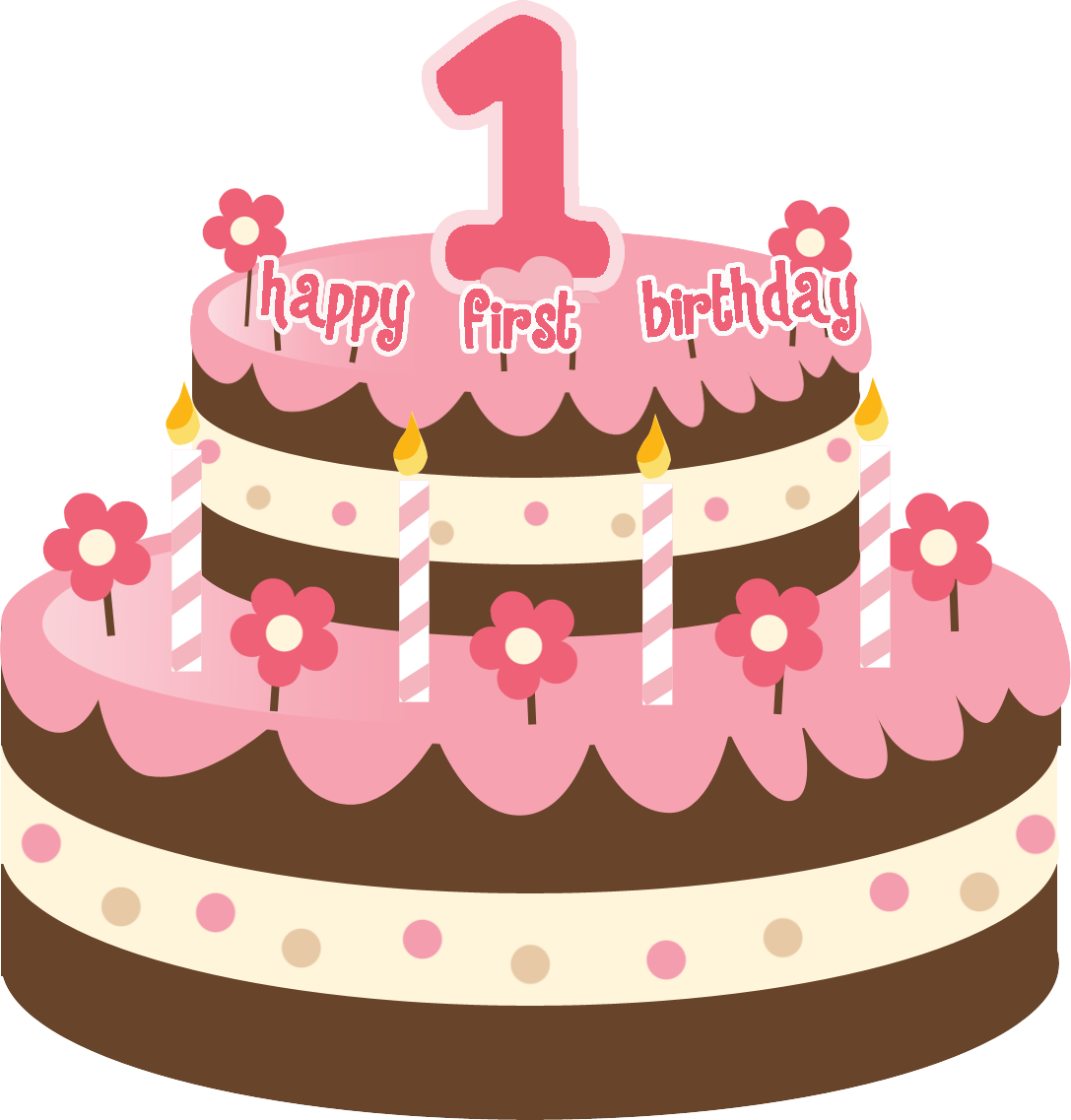 1st Birthday Cupcake Clip Art | Clipart Panda - Free Clipart Images