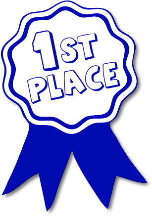 1st place award ribbon clipart award ribbon blue 1st.png