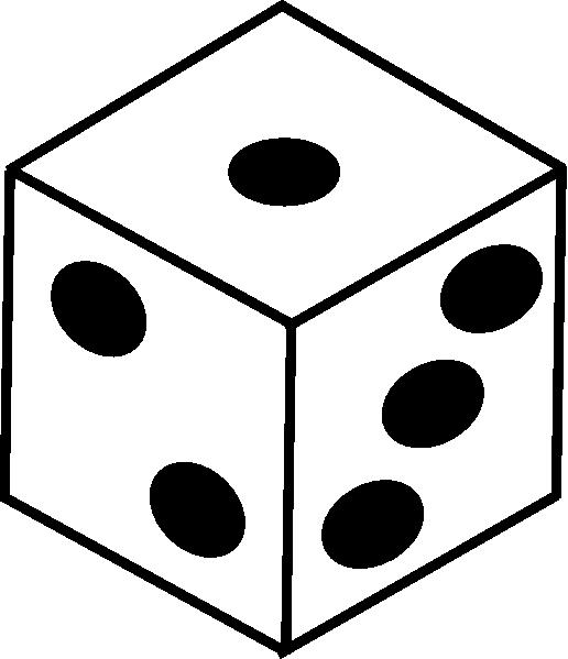 Bunco Dice Clipart