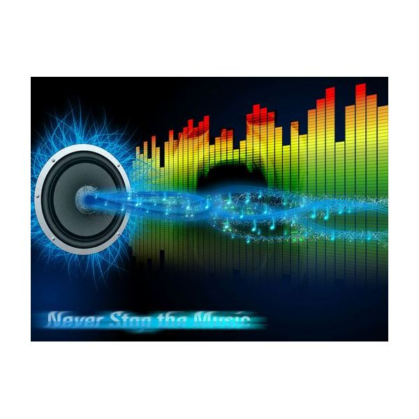 3d Colorful Music Notes Wallpaper Clipart Panda Free