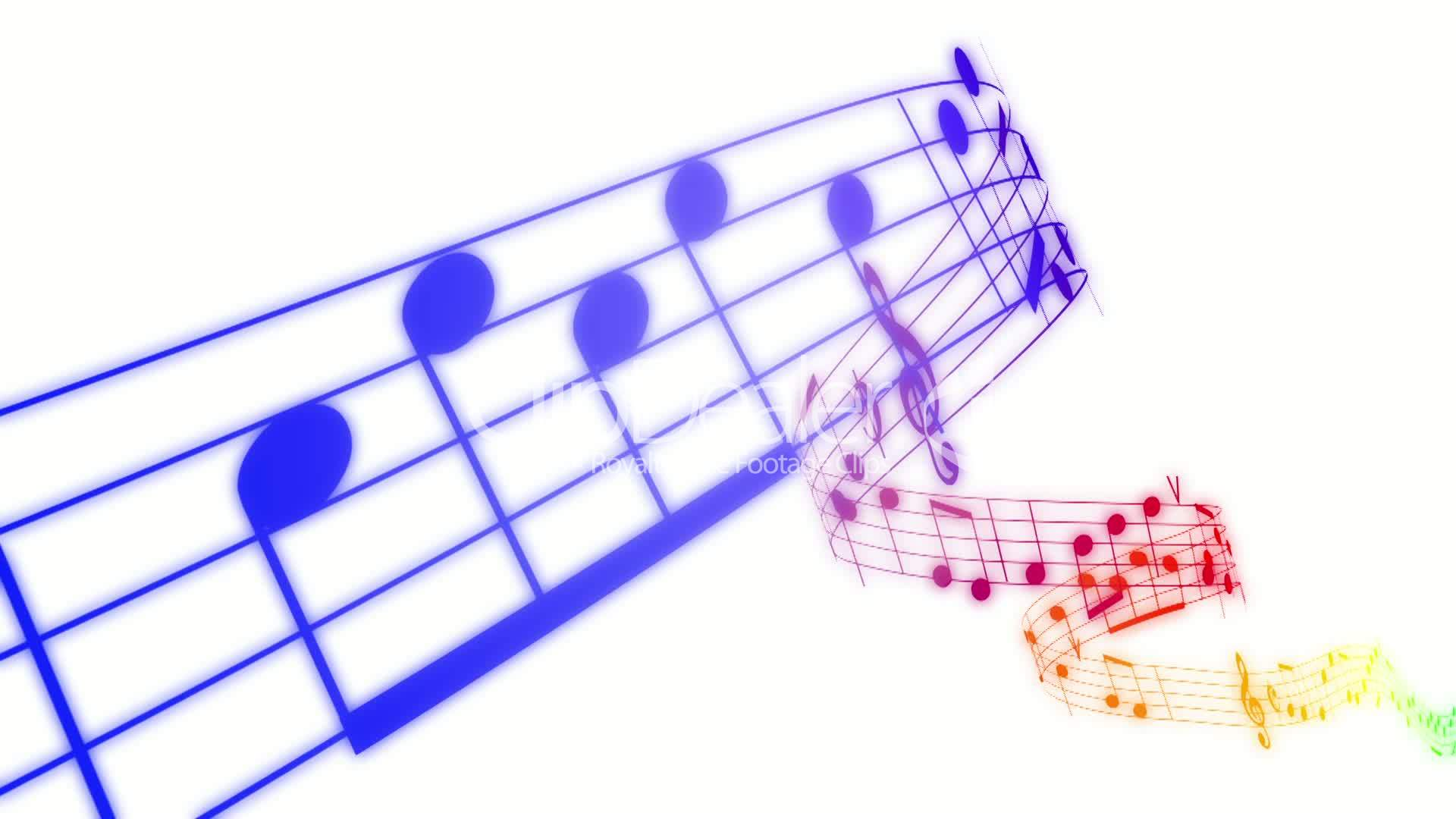 3d Colorful Music Notes Wallpaper: Colorful Music Wallpaper (36 Wallpapers)