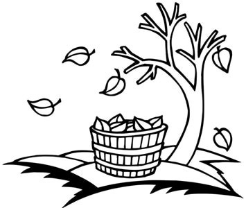 July Clip Art Black And White