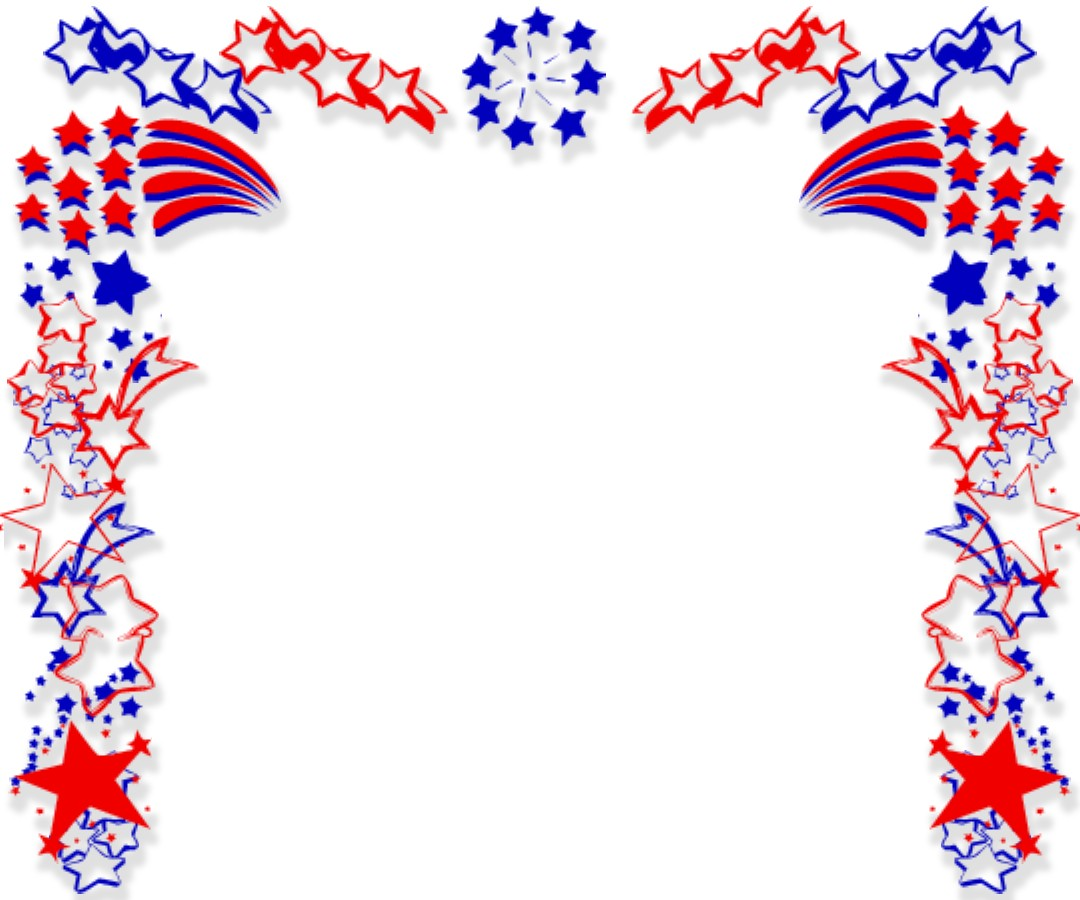 4th Of July Fireworks Border | Clipart Panda - Free ...