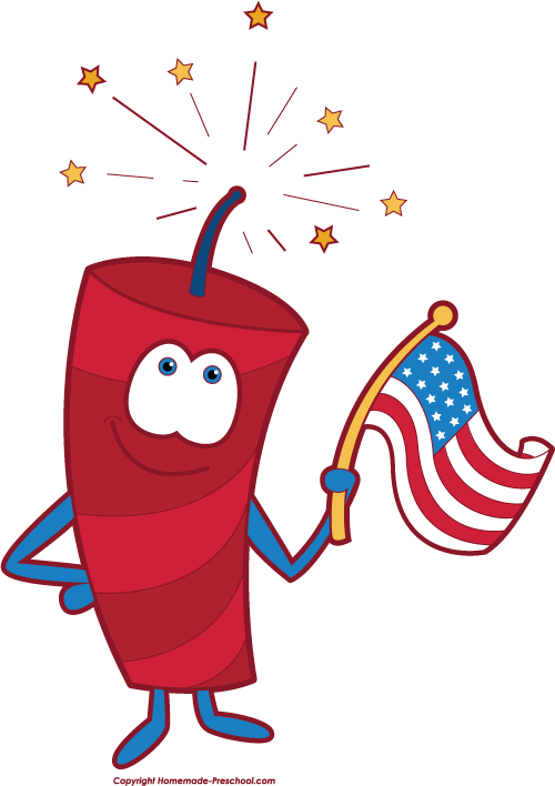 4th Of July Fireworks Clipart Png | Clipart Panda - Free Clipart Images