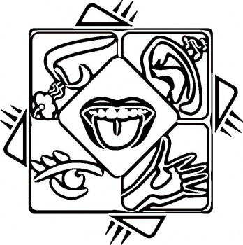 5 senses for kids clipart panda free clipart images for Five senses coloring pages