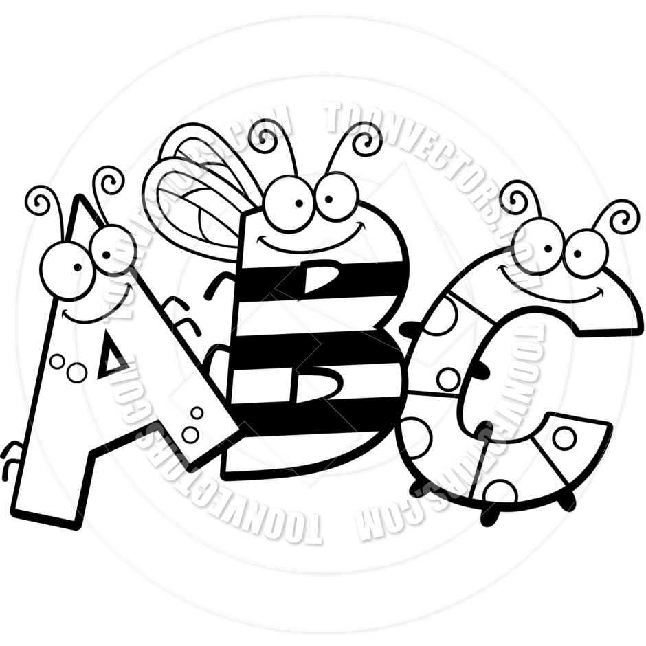 Abc Blocks Clipart Black And White | Clipart Panda - Free ...