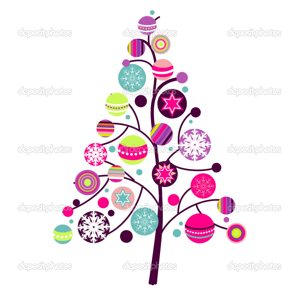 abstract christmas tree clipart clipart panda free clipart images