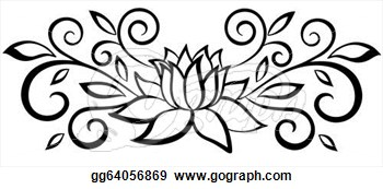 Black and white flower drawing clipart panda free clipart images abstract20flower20clip20art mightylinksfo