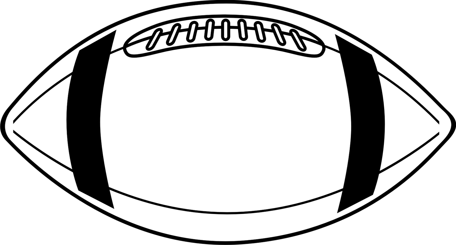 Football Laces Clip Art
