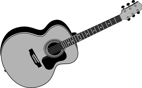 acoustic guitar clipart clipart panda free clipart images rh clipartpanda com acoustic guitar music clipart Acoustic Guitar Outline