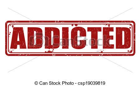 Addicted stamp - csp19039819 | Clipart Panda - Free ...