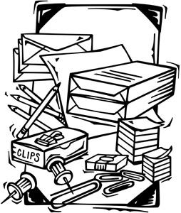 clip art of office supplies clipart panda free clipart images rh clipartpanda com Office Clip Art Cartoon Office-Supplies
