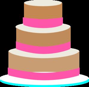 Plain  Layered Whedding Cake Clipart