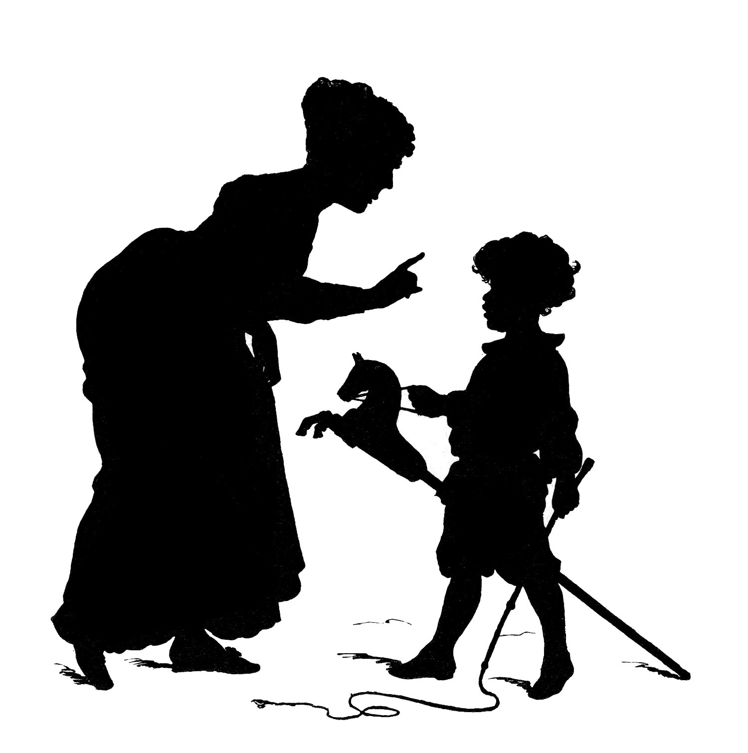 free clip art mother child - photo #37