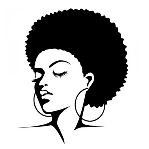 afro silhouette clip art clipart panda free clipart images