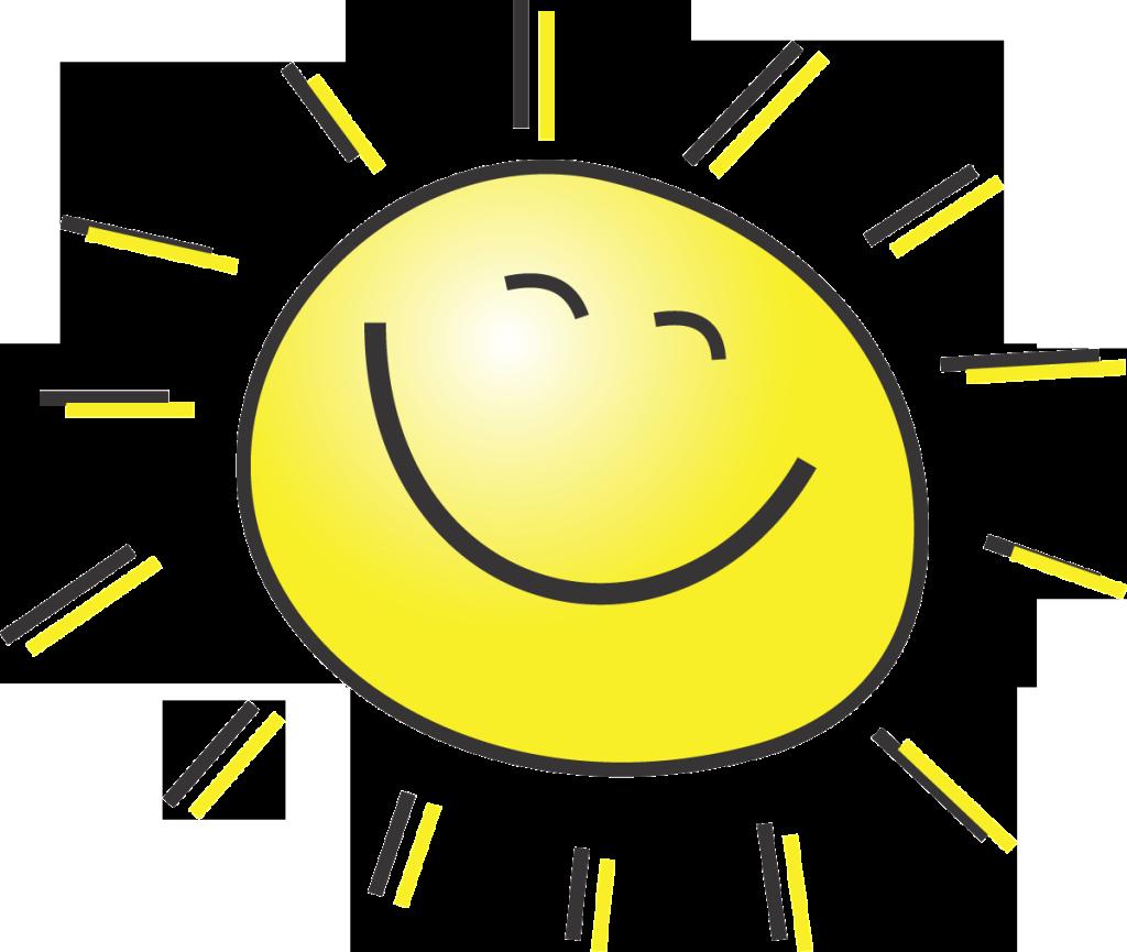 good afternoon sunshine clipart rh worldartsme com Evening Sunset Sky Clip Art Evening Sky Clip Art