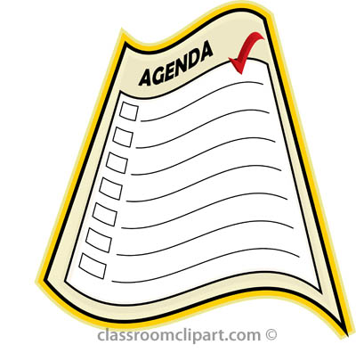 Agenda Clipart  Clipart Panda  Free Clipart Images