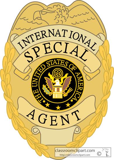 Agent clipart clipart panda free clipart images - Fbi badge wallpaper ...