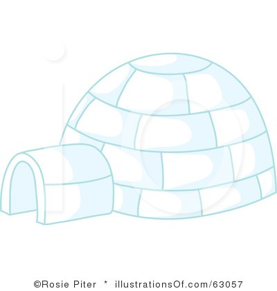 Igloo Clip Art Black And White | Clipart Panda - Free Clipart Images