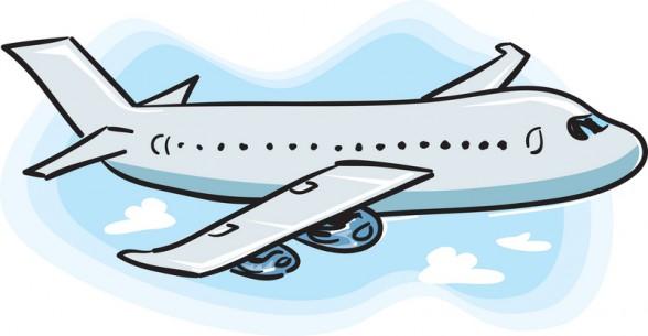 Airplane transparent. Clipart no background panda