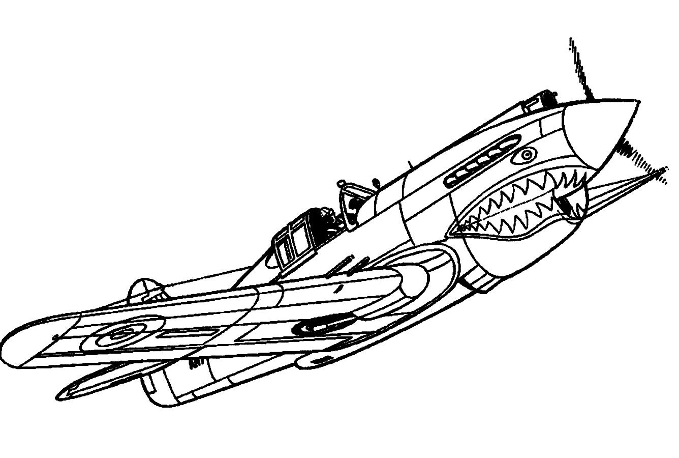 fighter jets coloring pages - photo#4