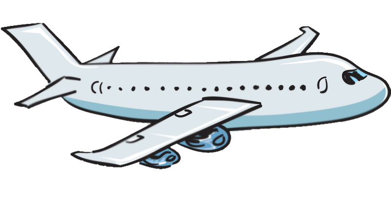 airplane clipart transparent background - photo #11