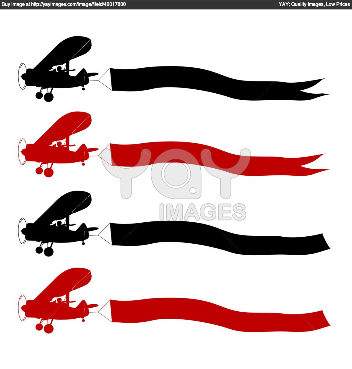 clipart airplane with banner - photo #33