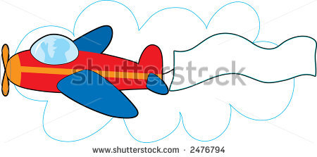 airplane with banner vector clipart panda free clipart images rh clipartpanda com plane with banner clipart free Plane Clip Art