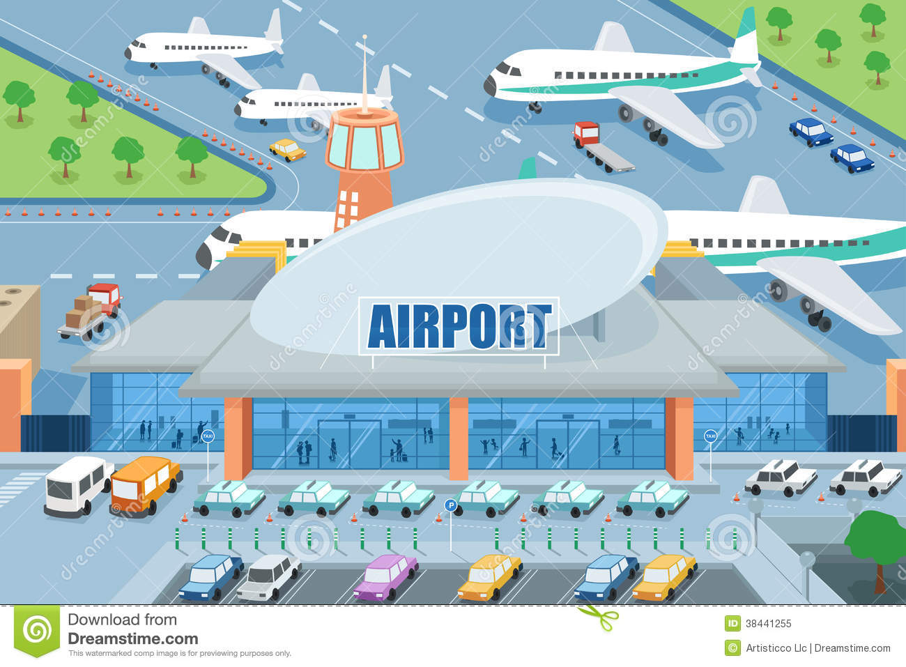 airport gate clipart - photo #37