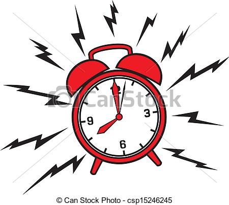 Loud Alarm Clock Clipart