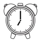 Alarm Clock Clipart Black And White | Clipart Panda - Free ...