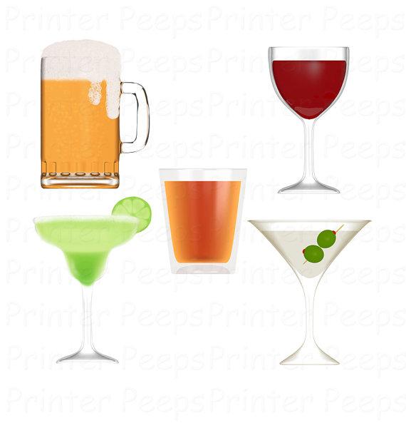 Beach Drinking Glasses