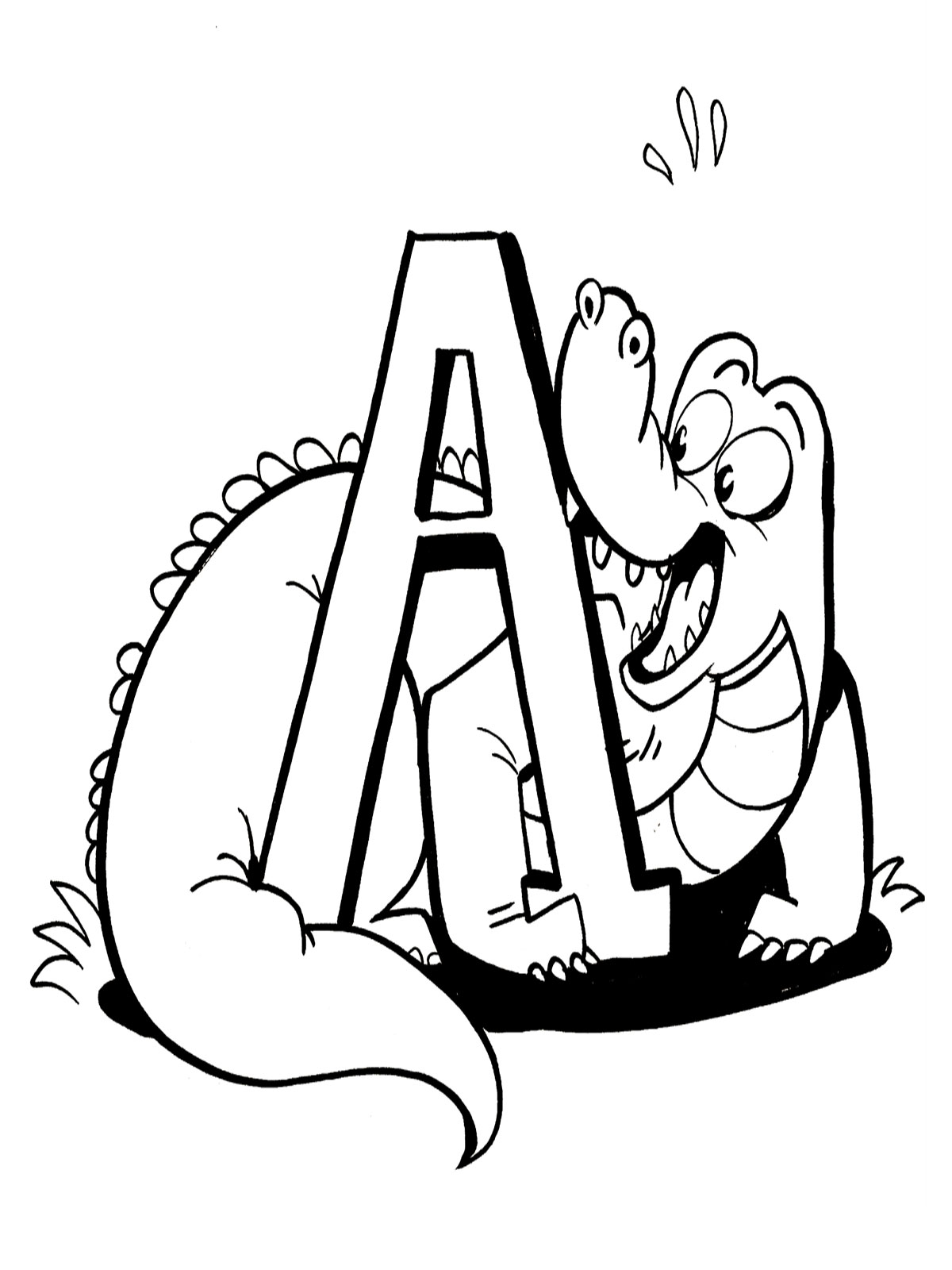 alligator coloring pages animalcoloringpages7 spot 2017