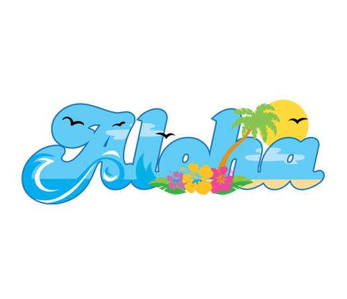 Aloha Clipart Clipart Panda Free Clipart Images
