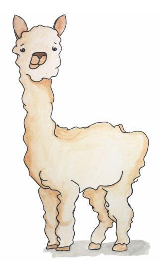 alpaca clipart clipart panda free clipart images rh clipartpanda com Funny Alpacas alpaca face clipart