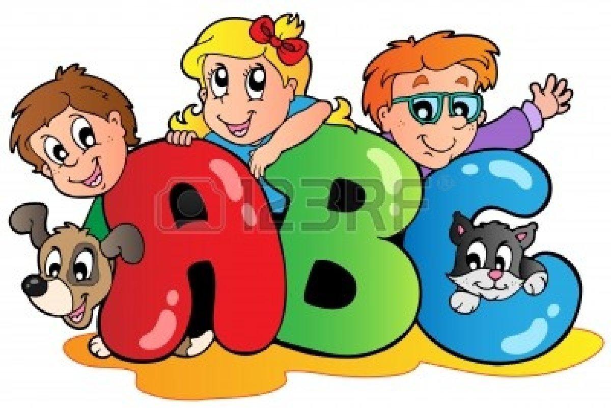 Kids ABC Alphabet Letters Clip Art