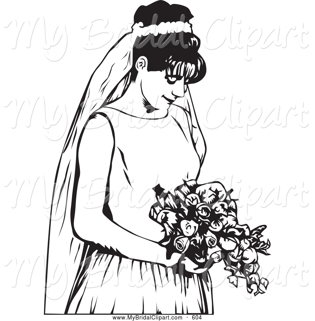 Bride And Bridesmaid Clipart | Clipart Panda - Free Clipart Images