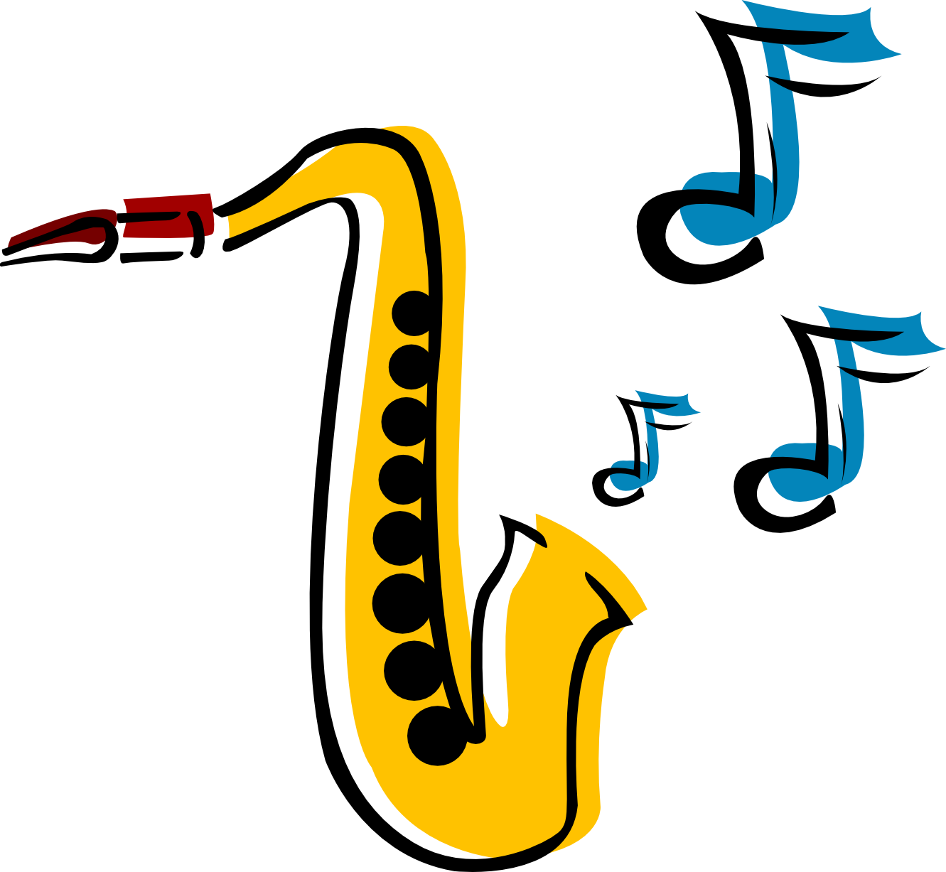 Alto Saxophone Clip Art | Clipart Panda - Free Clipart Images