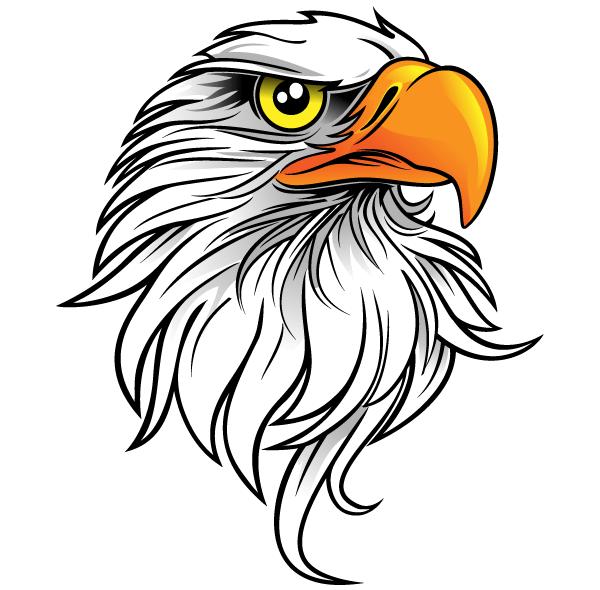 Eagle Head Mascot Clipart | Clipart Panda - Free Clipart Images
