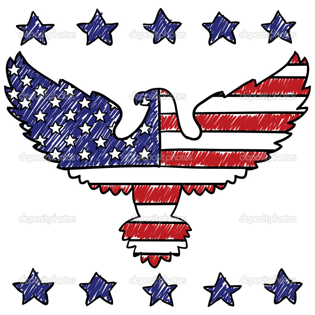 American Eagle Illustration | Clipart Panda - Free Clipart Images