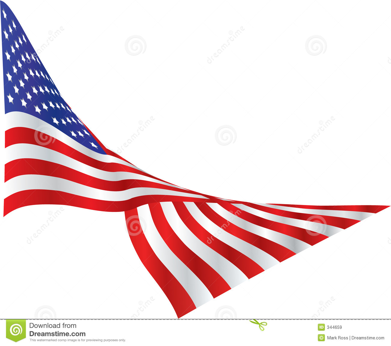American Flag Banner Clipart | Clipart Panda - Free Clipart Images